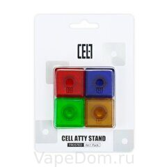 Подставки под атомы KIZOKU Cell Atty Stand 4 in 1 Blister Packing (Polycarbonate Frosted)