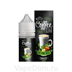 Жидкость COFEE-IN SALT Raf nuts 30мл 25мг