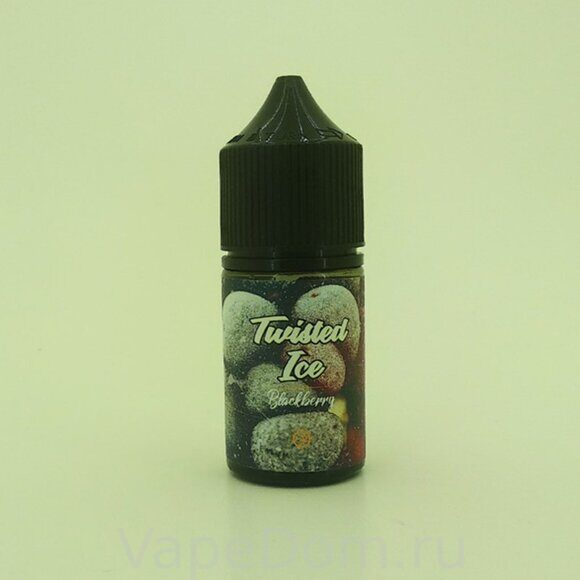 Жидкость Twisted Ice Salt Blackberry - 50mg 30 ml