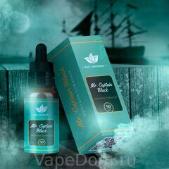 Red Smokers Mr. CAPTAIN BLACK Menthol Tobacco 50 мл, 3мг