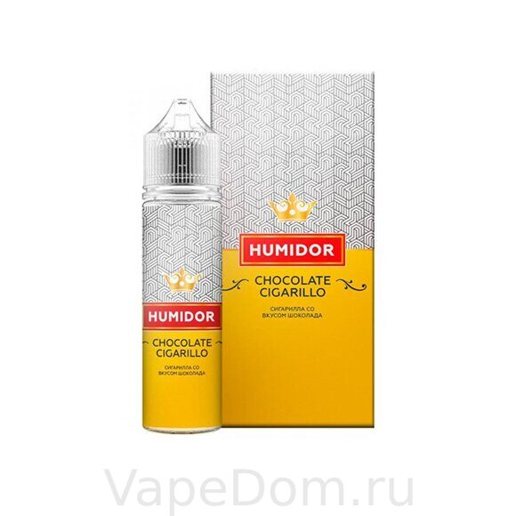 Жидкость Humidor CHOCOLATE CIGARILLO 60 мл, 6мг