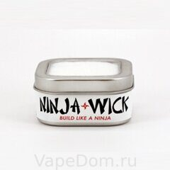 Хлопок Ninja Wick Organic Japanese Cotton USA упаковка (6 листов)