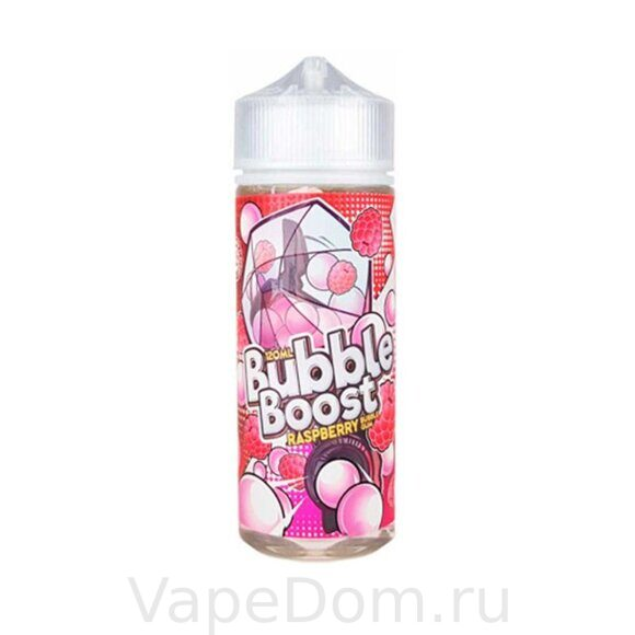 Жидкость Bubble Boost Banana Raspberry 120 мл 0мг