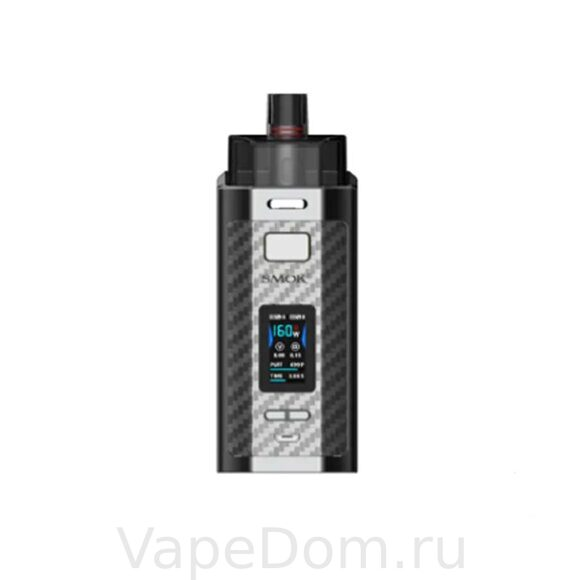 Стартовый набор Smok RPM160 Kit (Silver Carbon Fiber)