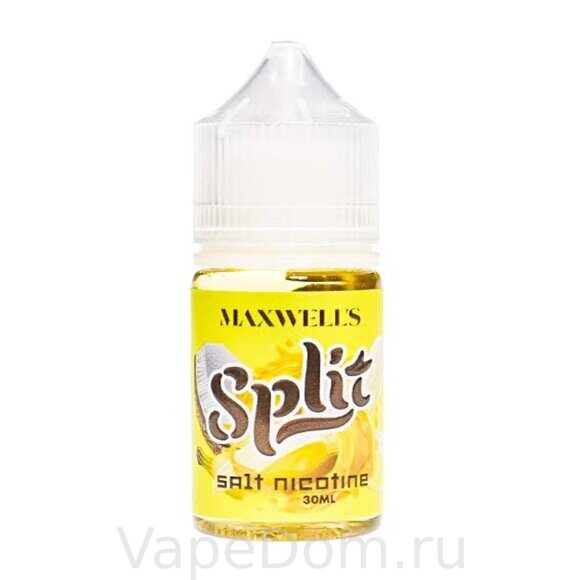 Жидкость MAXWELLS Salt - SPLIT  (30мл/35mg)