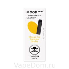MOOD mini Disposable vapes (Mango Ice Mangue Givree) 1шт