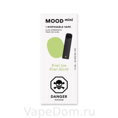 MOOD mini Disposable vapes (Kiwi Ice Kiwi Givre) 1шт
