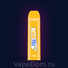HQD V2 Disposable Pod Device PINE APPLE 50 мг 1шт.