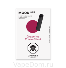 MOOD mini Disposable vapes (Grape lce Raisin Glace)
