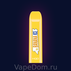 HQD V2 Disposable Pod Device Banana Ice 50мг 1шт