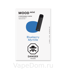 MOOD mini Disposable vapes (Blueberry Myrtille) 1шт