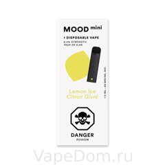 MOOD mini Disposable vapes (Lemon ice citron givre) 1шт