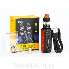 Стартовый набор OBS Cube Mini Resin Starter Kit 1500mAh