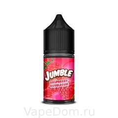 Жидкость Jumble Salt Raspberry Bubblegum 30 мл 20мг