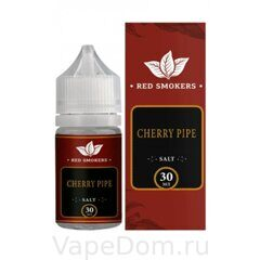 Жидкость Red Smokers Mr. CAPTAIN BLACK SALT Cherry Pipe 30 мл, 25мг