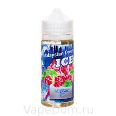 Жидкость Dream Team MALAYSIAN DREAM - Raspberry Ice  (Малина и мята) 30ml 20mg