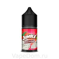 Жидкость Jumble Salt Strawberry Dragonfruit 30 мл 20мг