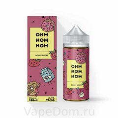 Жидкость OHM NOM NOM (120ml) - DONUT BREAK