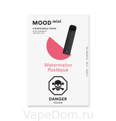 MOOD mini Disposable vapes (Watermelon Pasteque) 1шт